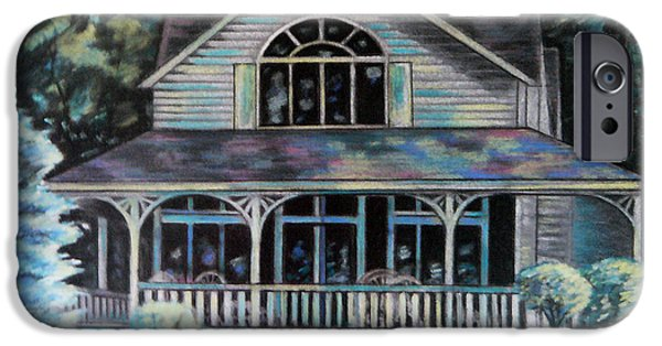 White House Pastels iPhone Cases - Country Life iPhone Case by Lisa Bates