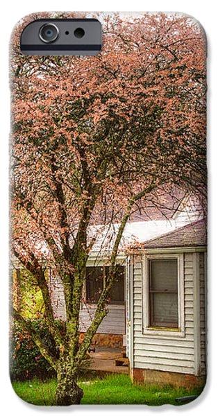 Country Pink iPhone Case by Debra and Dave Vanderlaan