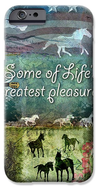 Country Pleasures iPhone Case by Evie Cook