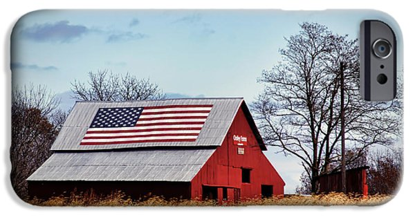 Recently Sold -  - Patriotism iPhone Cases - Country Pride iPhone Case by Cricket Hackmann