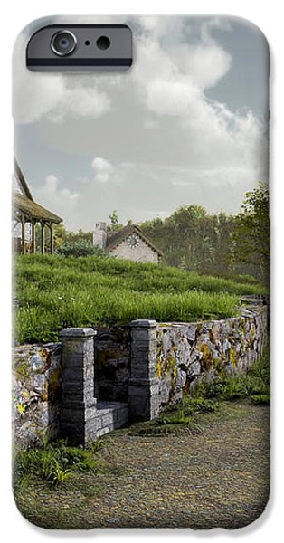 Country Road iPhone Case by Cynthia Decker