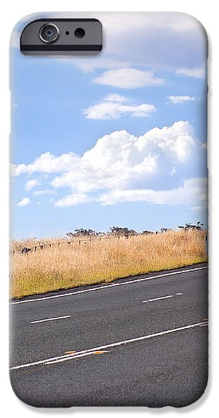 Country Road iPhone Case by Tim Hester