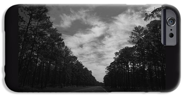 Asphalt iPhone Cases - Country Roads iPhone Case by Debra Forand