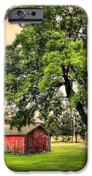 Country Scene iPhone Case by Kathleen Struckle