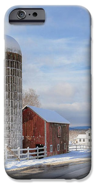 Country Snow iPhone Case by Bill  Wakeley