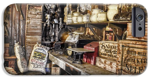 Country Store iPhone Cases - Country Store Supplies iPhone Case by Ken Smith