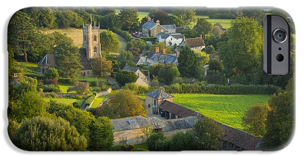 Recently Sold -  - Agricultural iPhone Cases - Country Village - England iPhone Case by Brian Jannsen