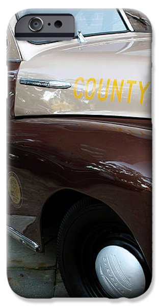 County Police iPhone Case by John Rizzuto