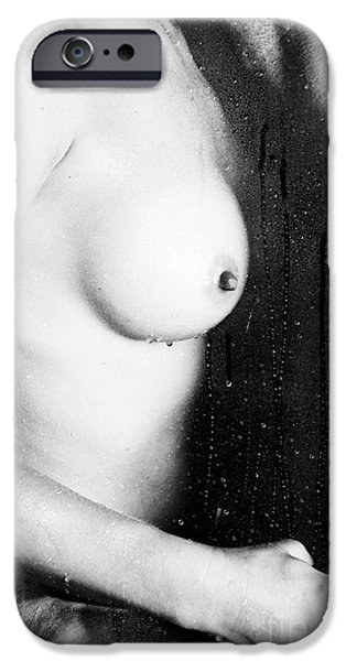 Recently Sold -  - Bonding iPhone Cases - Couple Shower iPhone Case by Erotic Art