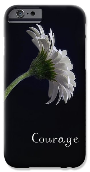 Courage iPhone Case by Kim Andelkovic