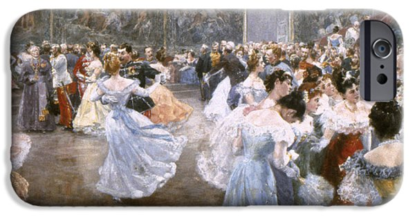 Ball Gown Photographs iPhone Cases - Court Ball At The Hofburg iPhone Case by Granger