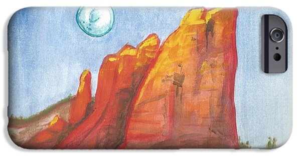 Oak Creek iPhone Cases - Court House Butte by Reed Novotny iPhone Case by Reed Novotny