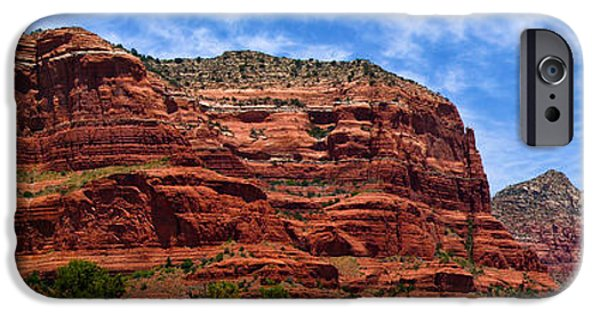 Pathway iPhone Cases - Courthouse Butte Rock Formation Sedona Arizona iPhone Case by Amy Cicconi