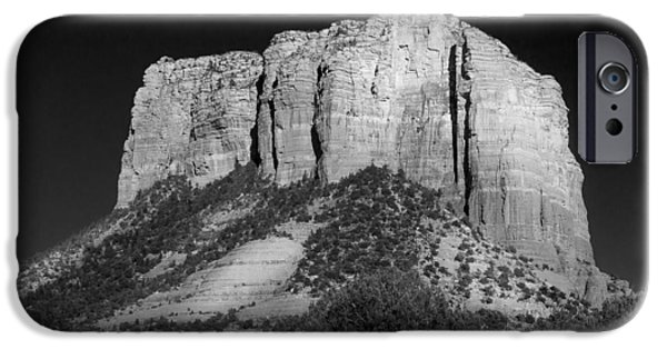 Sedona iPhone Cases - Courthouse Butte Sedona iPhone Case by Chris Bordeleau