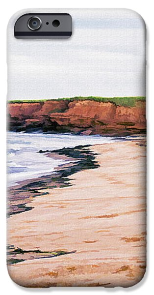 Cousins Shore Prince Edward Island iPhone Case by Edward Fielding