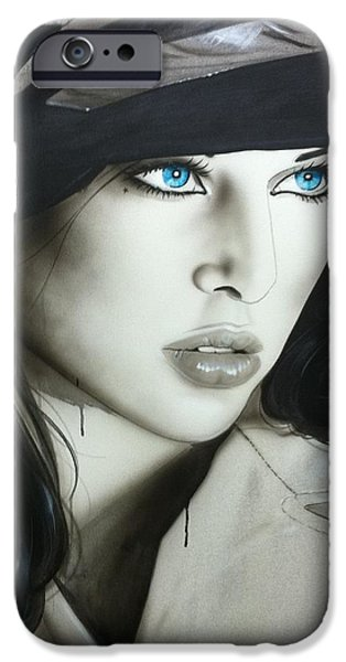 'Couture' iPhone Case by Christian Chapman Art