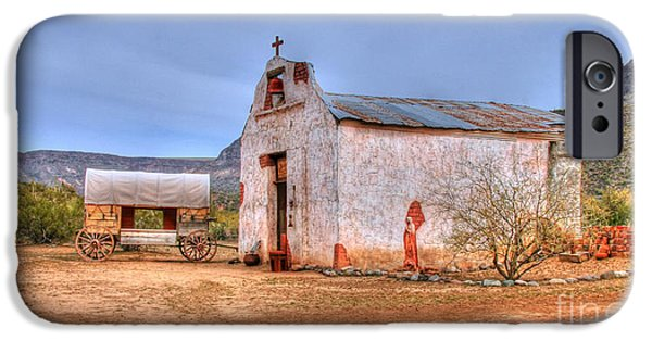 Cowboy Church iPhone Case by Tap  On Photo
