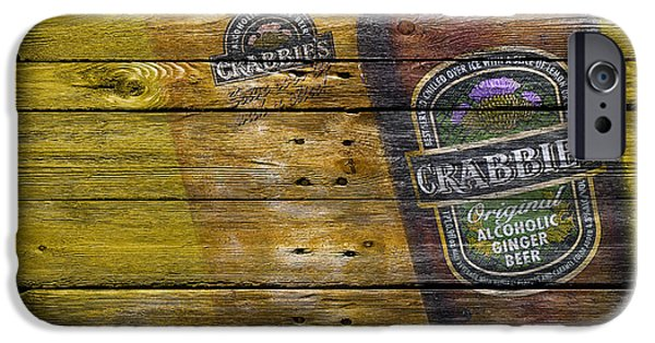 Tap iPhone Cases - Crabbies iPhone Case by Joe Hamilton