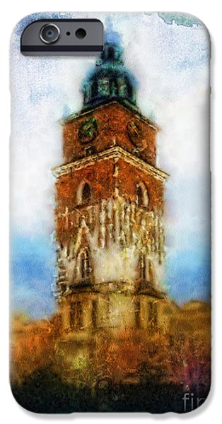 Cracov City Hall iPhone Case by Mo T
