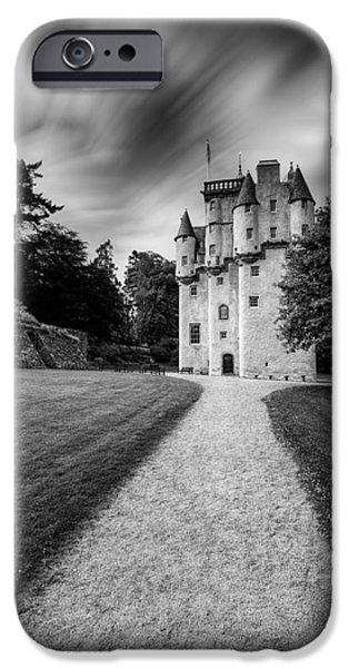 Historic Buildings iPhone Cases - Craigievar Castle iPhone Case by Dave Bowman