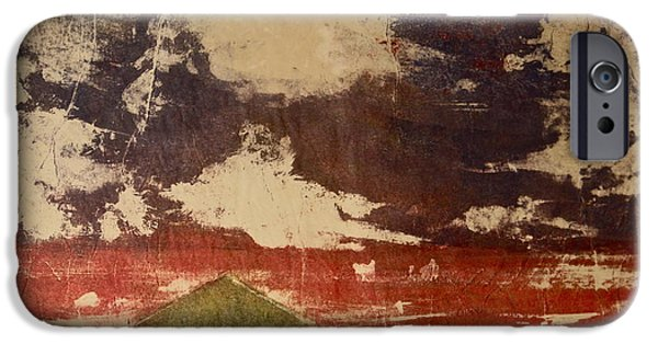 Storm Clouds Cape Cod iPhone Cases - Cranberry Season iPhone Case by Deborah Talbot - Kostisin