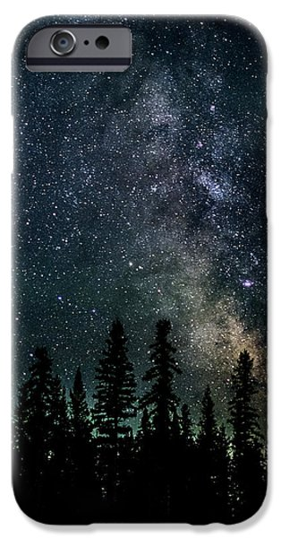 Astral iPhone Cases - Cranbrook Milkyway iPhone Case by Rob Tullis