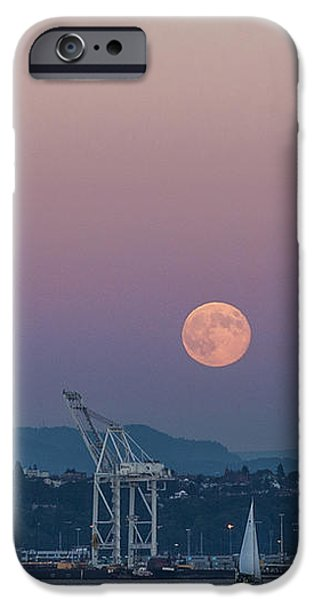 Crane Moon Sail iPhone Case by Scott Campbell