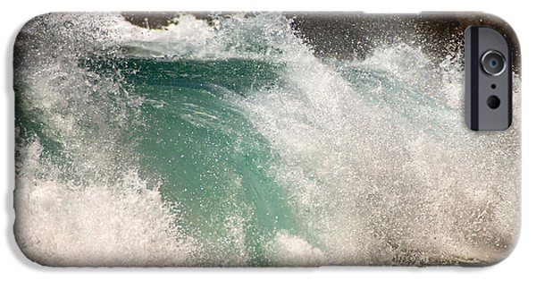 Heisler Park iPhone Cases - Crash iPhone Case by Vicki Jauron