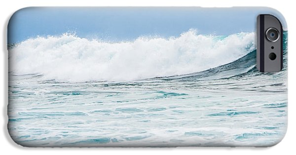 Florida House Photographs iPhone Cases - Crashing To The Shore iPhone Case by Parker Cunningham