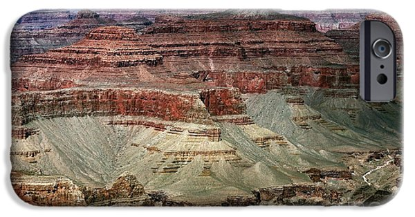 Northern Arizona iPhone Cases - Crater Colors iPhone Case by John Rizzuto