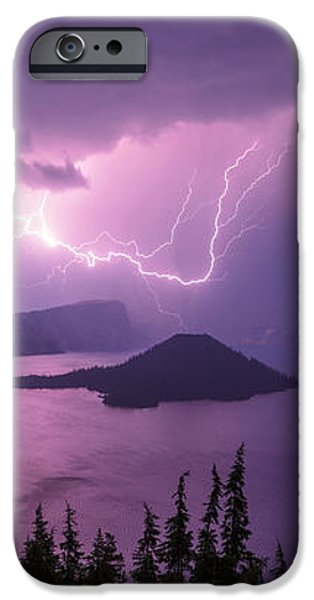 Crater Storm iPhone Case by Chad Dutson
