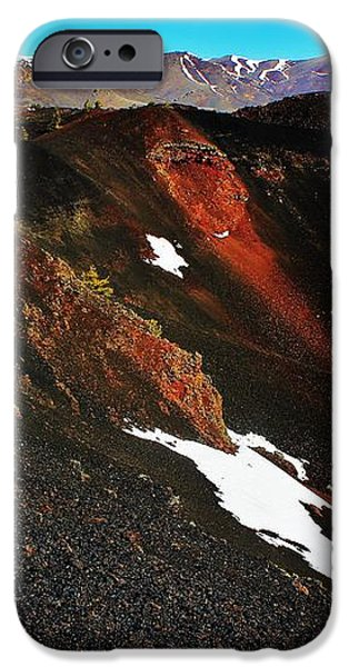 Craters of the Moon iPhone Case by Benjamin Yeager