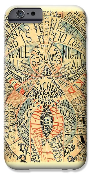 Strange iPhone Cases - Crazy Thoughts iPhone Case by Gary Grayson