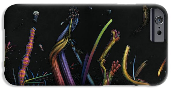 Strange iPhone Cases - Creation iPhone Case by James W Johnson