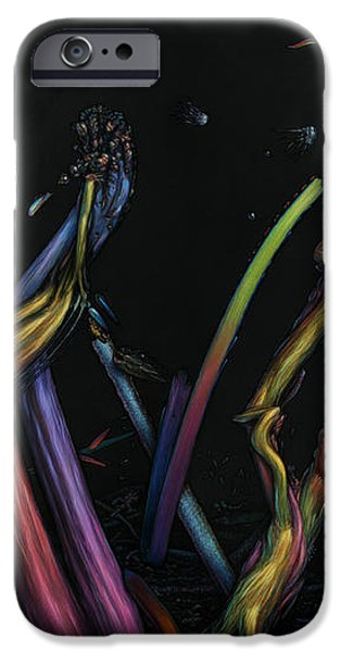 Creation iPhone Case by James W Johnson