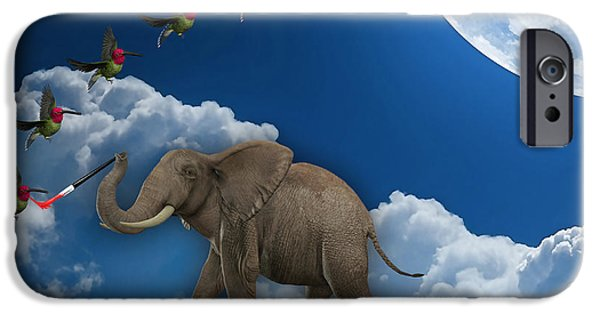 Elephant iPhone Cases - Creation iPhone Case by Marvin Blaine