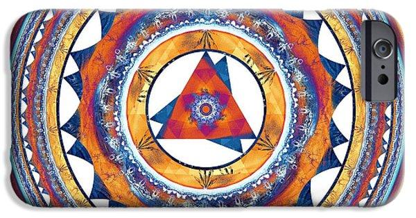 Buddhism iPhone Cases - Creative Energy iPhone Case by Anastasiya Malakhova