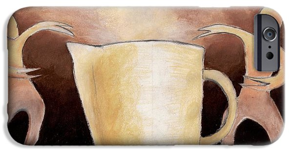 Van Dyke Brown iPhone Cases - Creator of the Coffee iPhone Case by Keith Gruis