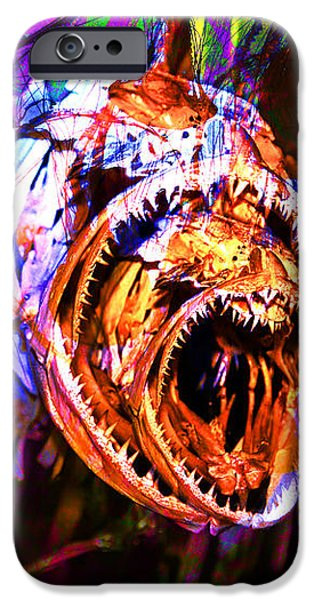 Creatures Of The Deep - Fear No Fish 5D24799 v2 iPhone Case by Wingsdomain Art and Photography