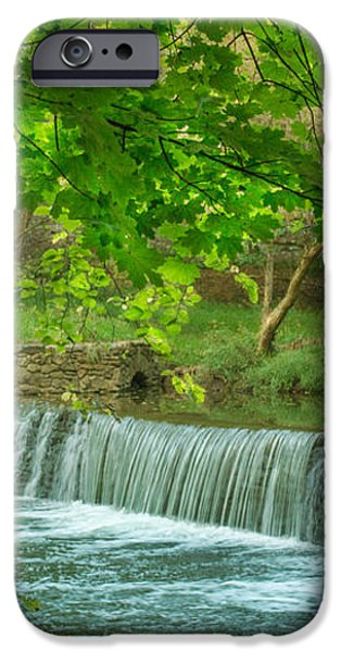 creek at Valley Forge iPhone Case by Rima Biswas