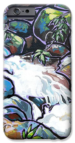 Creek iPhone Case by Nadi Spencer