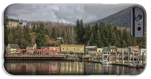 Dolley iPhone Cases - Creek Street V11414 iPhone Case by Timothy Latta