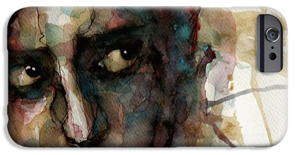 Lips iPhone Cases - Creole Goddess iPhone Case by Paul Lovering