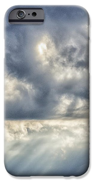Crepuscular Rays iPhone Case by Thomas R Fletcher
