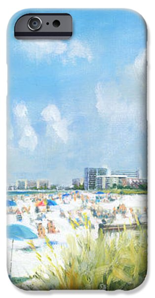 Crescent Beach on Siesta Key iPhone Case by Shawn McLoughlin