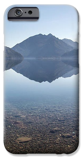 Crescent Lake reflection iPhone Case by Pierre Leclerc Photography