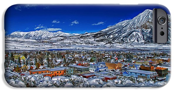Snow Drifts Photographs iPhone Cases - Crested Butte Colorado iPhone Case by Mountain Dreams