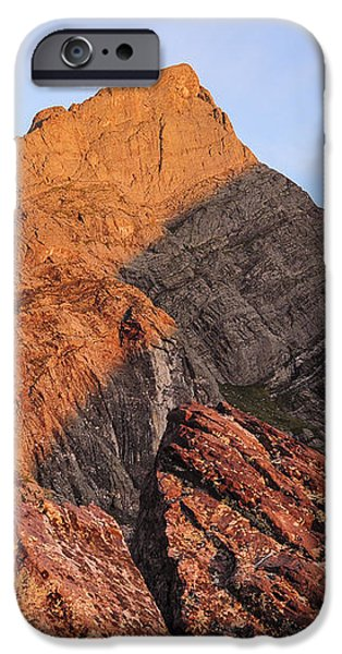 Crestone Needle Sunrise iPhone Case by Aaron Spong