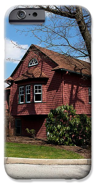 Cricket Building at Haverford College iPhone Case by Kay Pickens