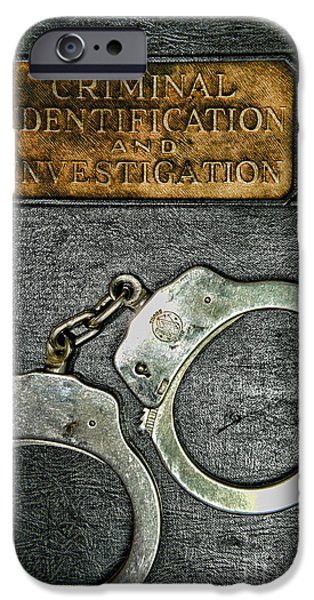 Law Enforcement iPhone Cases - Crime Scene Investigation iPhone Case by Paul Ward